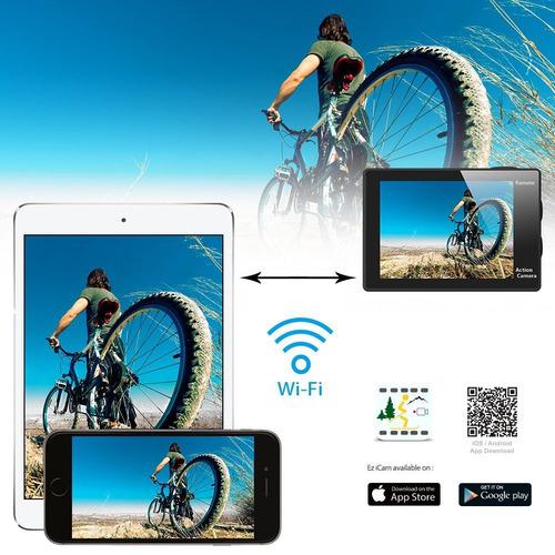 camara deportiva eken h9r 4k wifi control remoto gopro