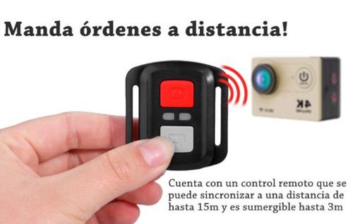 camara deportiva go h9r graba 4k control remoto envio gratis