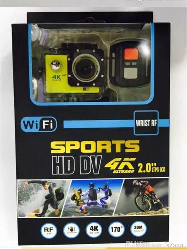 camara deportiva go sumergible 4k wifi accesorios 12mpx