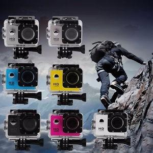camara deportiva hd 1080 p 12 mp interfaz go pro elige color