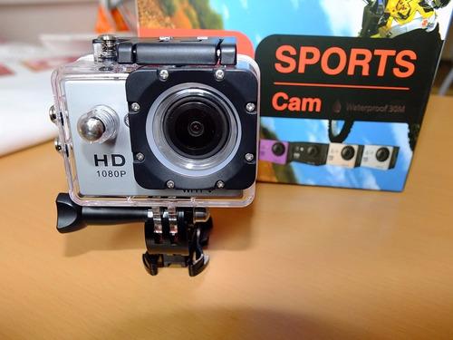 camara deportiva hd 1080p sumergible 30 m tipo go  pro dhl