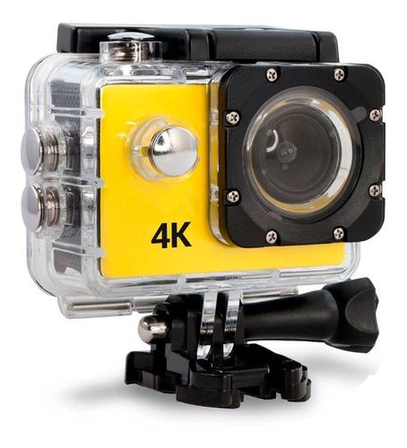 camara deportiva hd 4k action cam sumergible accesorios