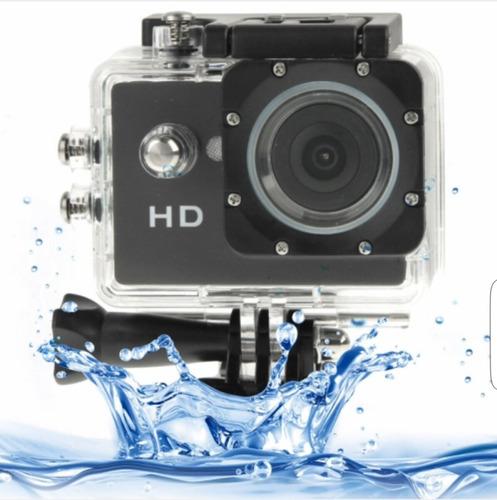cámara deportiva  hd  con accesorios