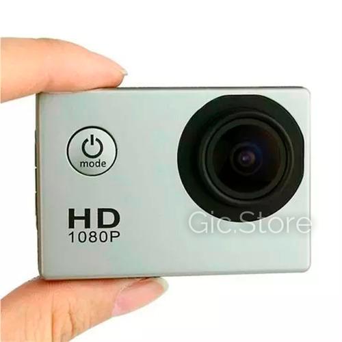 cámara deportiva hd sumergible 30 mt con accesorios 5mp
