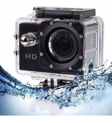 camara deportiva hddv sumergible 30mtrs hdmi tipo go pro