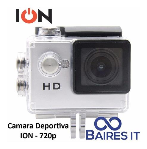 camara deportiva ion sport cam 720p pantalla 2  blanco
