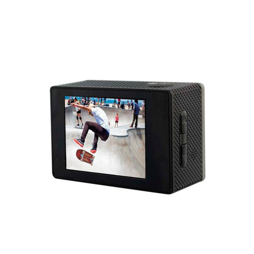 cámara deportiva isport pro 4k wifi gris mlab