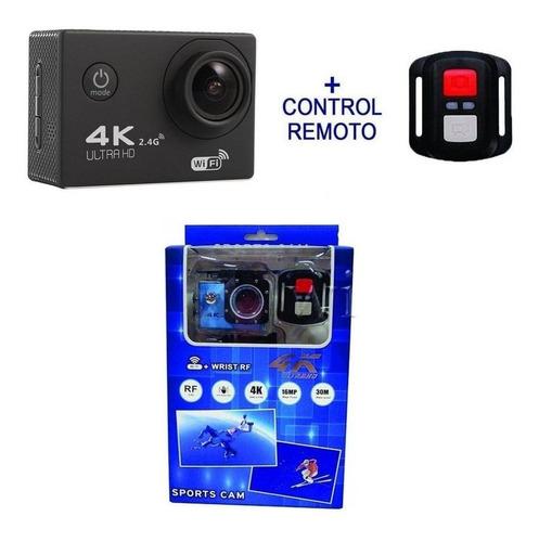 cámara deportiva moto 4k hd 1080p wifi+control