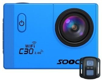 camara deportiva sensor sony 20mp 4k soocoo c30r control r