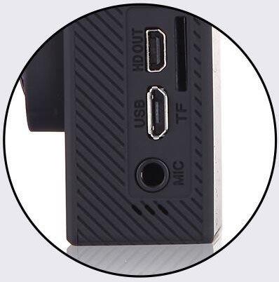 camara deportiva sensor sony 4k 20mp microfono externo 3.5mm