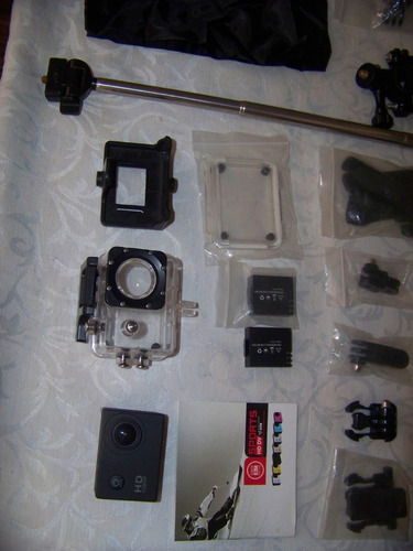 camara deportiva sj4000 con full accesorios