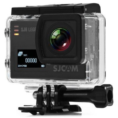 camara deportiva sj6 legend sjcam doble pantalla 16mp 4k hd