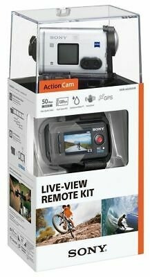 camara deportiva sony hdr-as200vr live view remote kit