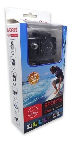 camara deportiva sport cam sumergible 720'p videos-fotos