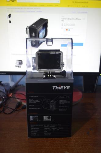 cámara deportiva thieye hd