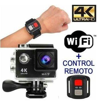 camara deportiva tipo go pro 4k wifi action cam+control remo