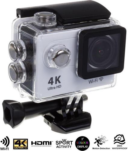 cámara deportiva wifi 4k ultra hd resistente al agua 30m