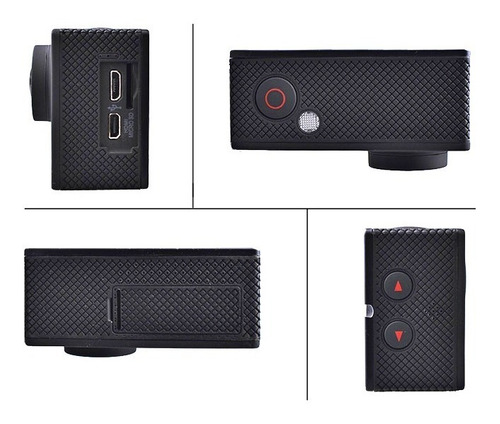 cámara deportiva  wifi sumergible a 30 mts
