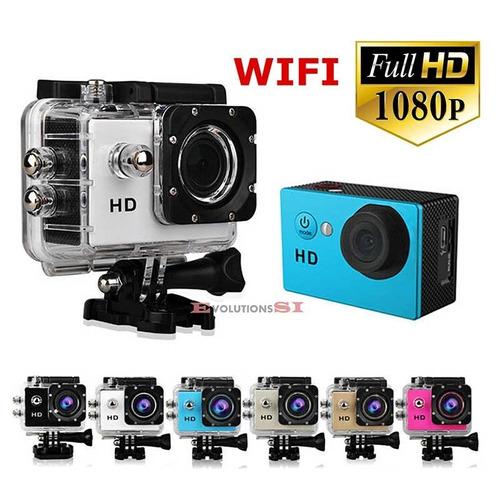 cámara deportiva wifi sumergible30m action cam 16mp 1080p