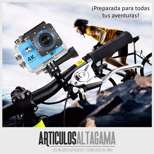 camara deportiva wifi video foto resistente agua con control