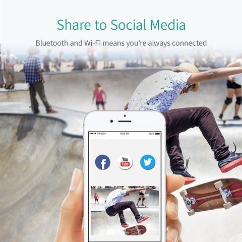 camara deportiva xiaomi yi lite 4k wifi 1080/60fp 150° 2hora
