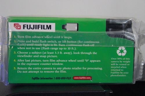 camara desechable 35mm fujifilm original de coleccion