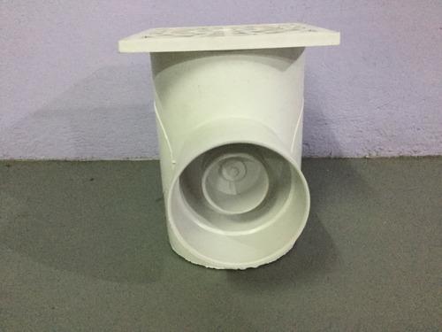 cámara desengrasadora pvc 160 mm diam con sifón