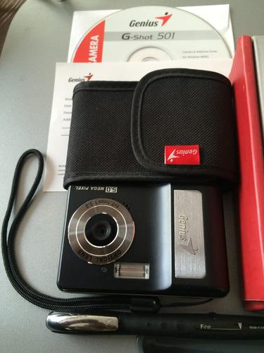 cámara digital 5 megapíxeles genius g-shot 501