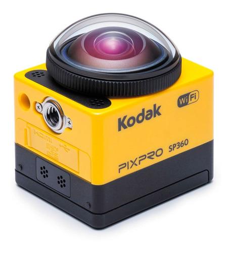 cámara digital accion pack pixpro sp360 16mpx + accesorios