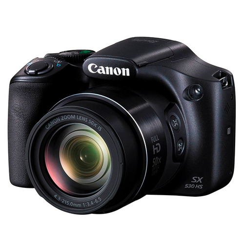 camara digital canon 16mp zoom 50x digital 100x video 1080p