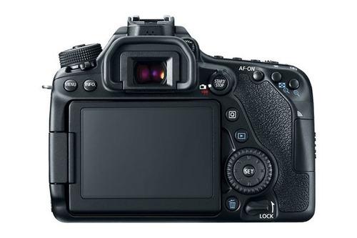 cámara digital canon 24.2mp full hd eos 80d ef-s lcd 3 wifi