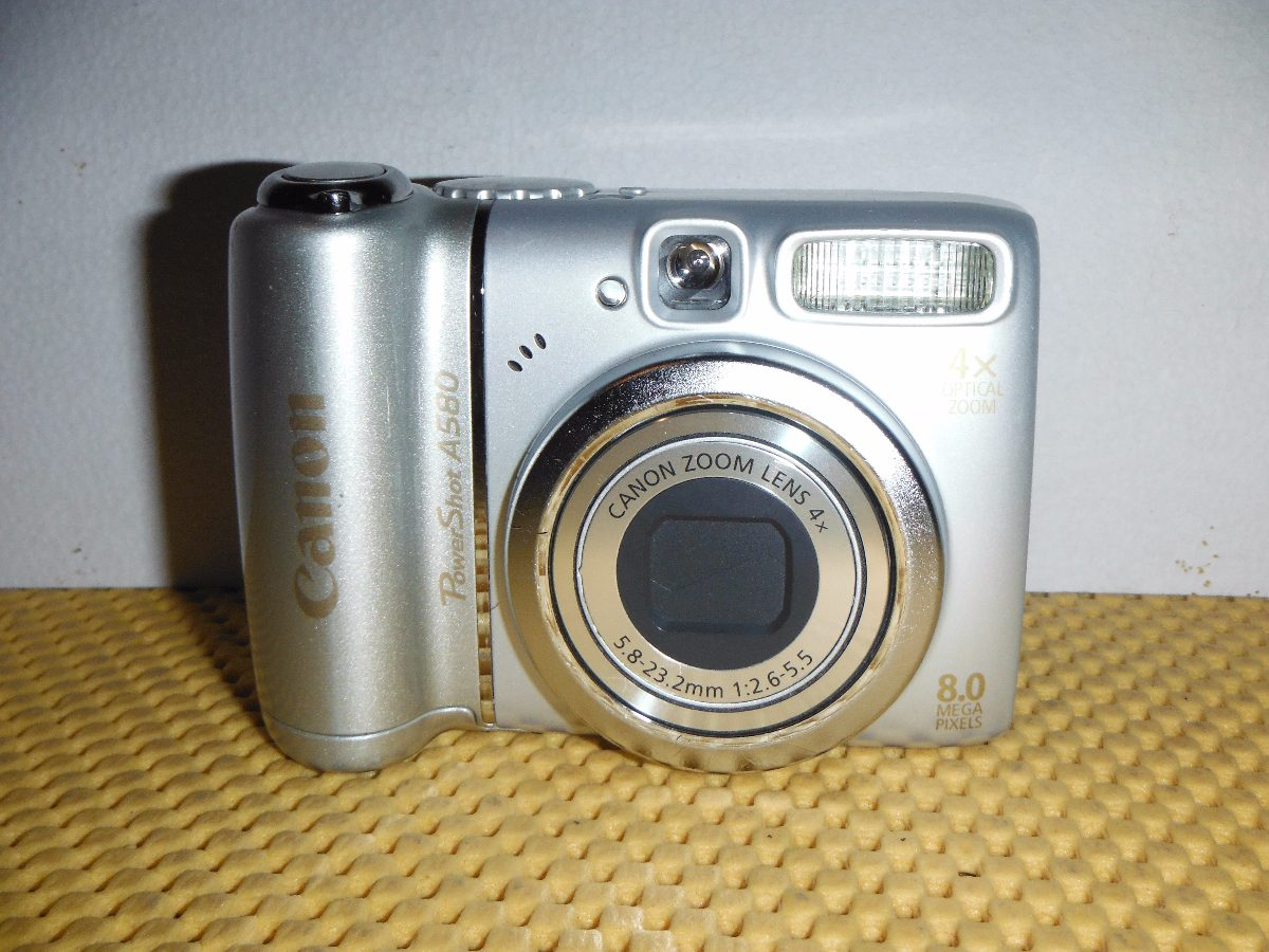 DRIVERS UPDATE: CANON POWERSHOT A580 DIGITAL CAMERA