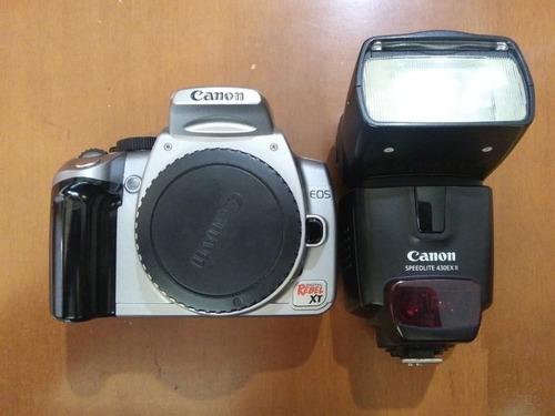 cámara digital canon + accesorios