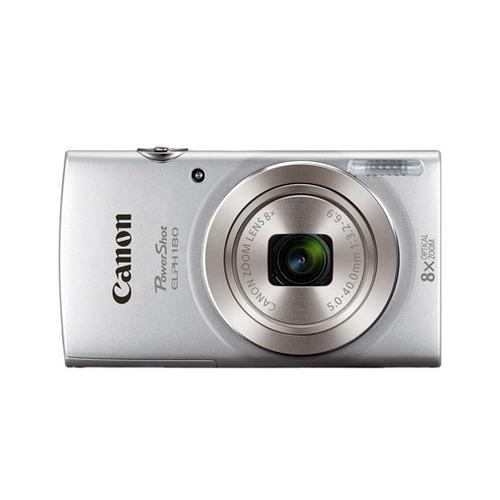 camara digital canon e180 20 megapixeles color plata