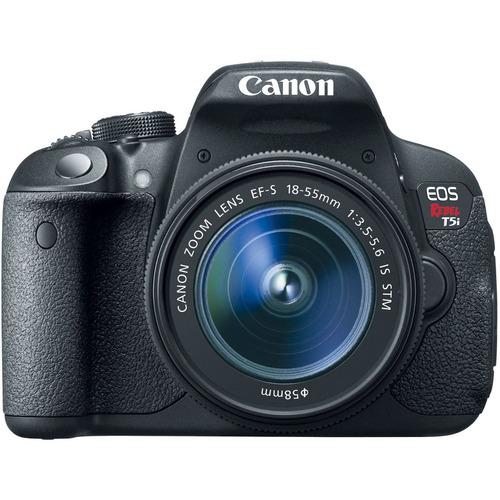 cámara digital canon eos rebel t5i, 18.0 mpx, con pantalla