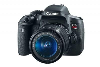 cámara digital canon eos rebel t6i - 24, 2 mp, 1920 x 1080