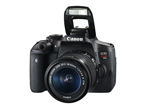 camara digital canon eos rebel t6i, lcd 3  24.2 mp