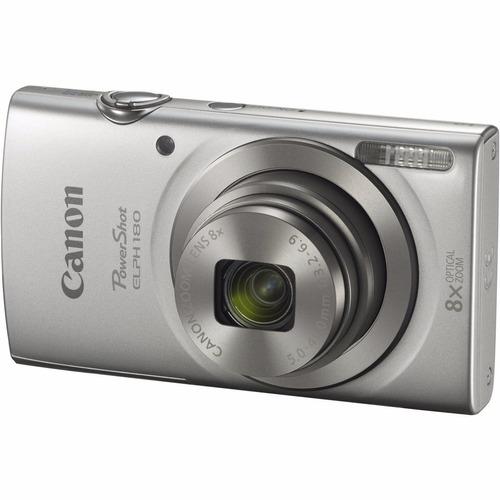 camara digital canon optico 8x video hd 20mpx plata o rojo