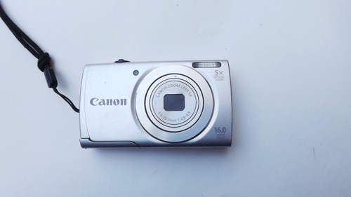 cámara digital canon power shot a 2500 hd gris