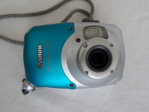 camara digital canon power shot mod. d10 - 12.1 mp 3x