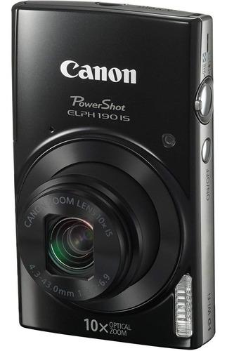 cámara digital canon powershot 190is 20mp con wifi colores