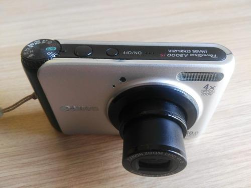 cámara digital canon powershot a3000 is 10 megapixeles