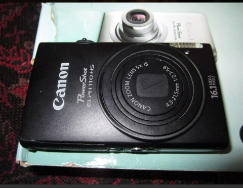 cámara digital canon powershot elph 110 hs