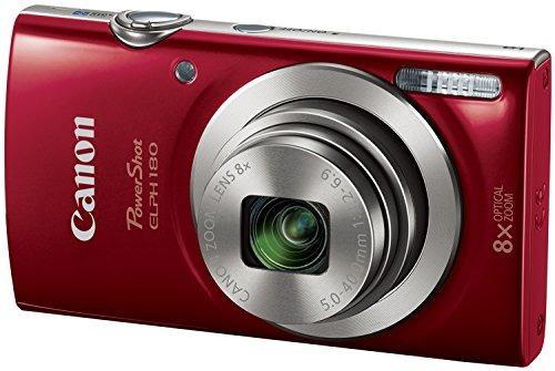 camara digital canon powershot elph 180 20 mp tarjeta roja d