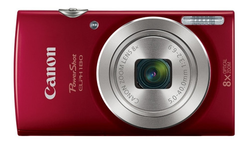 camara digital canon powershot elph 180-20mp, hd,8x zoom