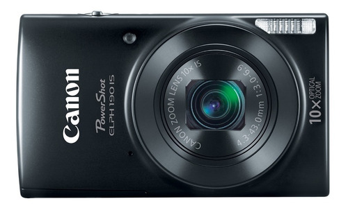 camara digital canon powershot elph190 is negra 20mp,10 zoom