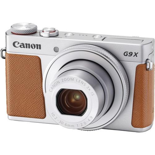 camara digital canon powershot g9 x mark ii plata 20.1 mp