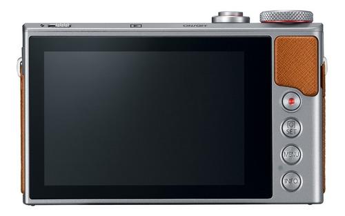 cámara digital canon powershot g9x mark ii silver 20mp wi fi