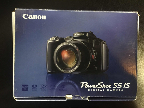 cámara digital canon powershot s5 is