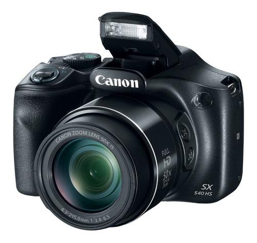 camara digital canon powershot sx540hs 20mp, full hd, wifi,